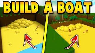 END TREASURE AT SPAWN! | Build a boat For Treasure ROBLOX