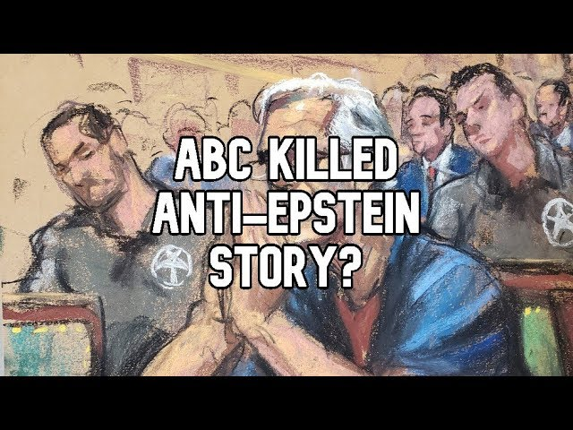 No one knew who Epstein was? ABC anchor states anti-tycoon story was covered up in a 'hot mic' vid