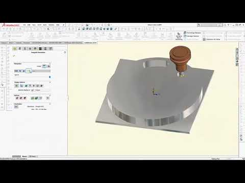 SOLIDWORKS CAM is Powered by CAMWorks