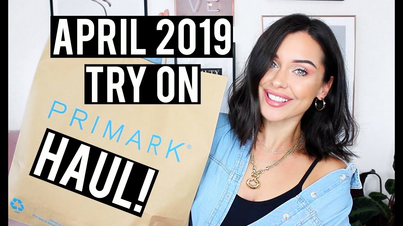 5e9447ad7d SPRING TRY ON PRIMARK HAUL APRIL 2019 | KatesBeautyStation - YouTube