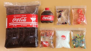 Making Big Coca Cola Slime with Bags! Most Satisfying Slime VideoASMR#ASMR#PipingBags