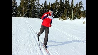 Try the Coffee Cup Drill to improve your classic and skate skiing