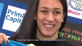 """Andrea Lekic: """"CSM este unul dintre cele mai mari cluburi din Europa"""""""