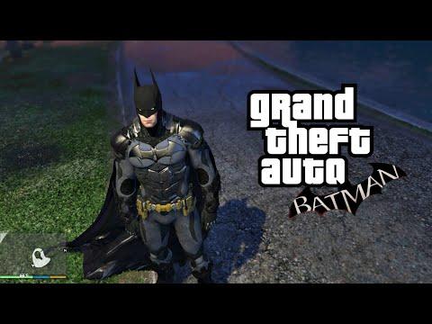 Batman: Arkham Knight with CAPE Physics 🔥 GTA 5 MOD |