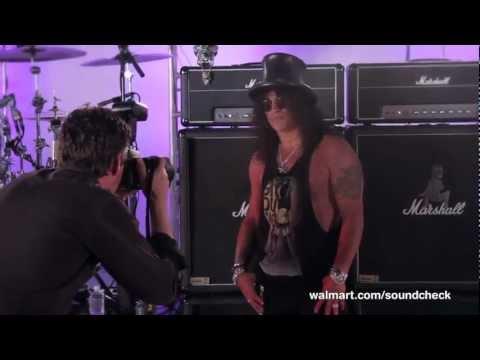"Slash ""Apocalyptic Love"" Tour LIVE on Walmart Soundcheck"