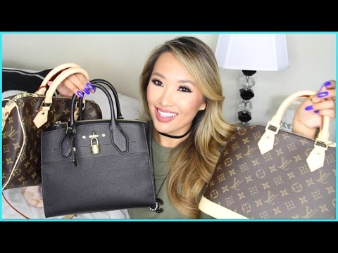 HUGE LOUIS VUITTON HAUL | WHAT I BOUGHT IN ITALY | hollyannaeree