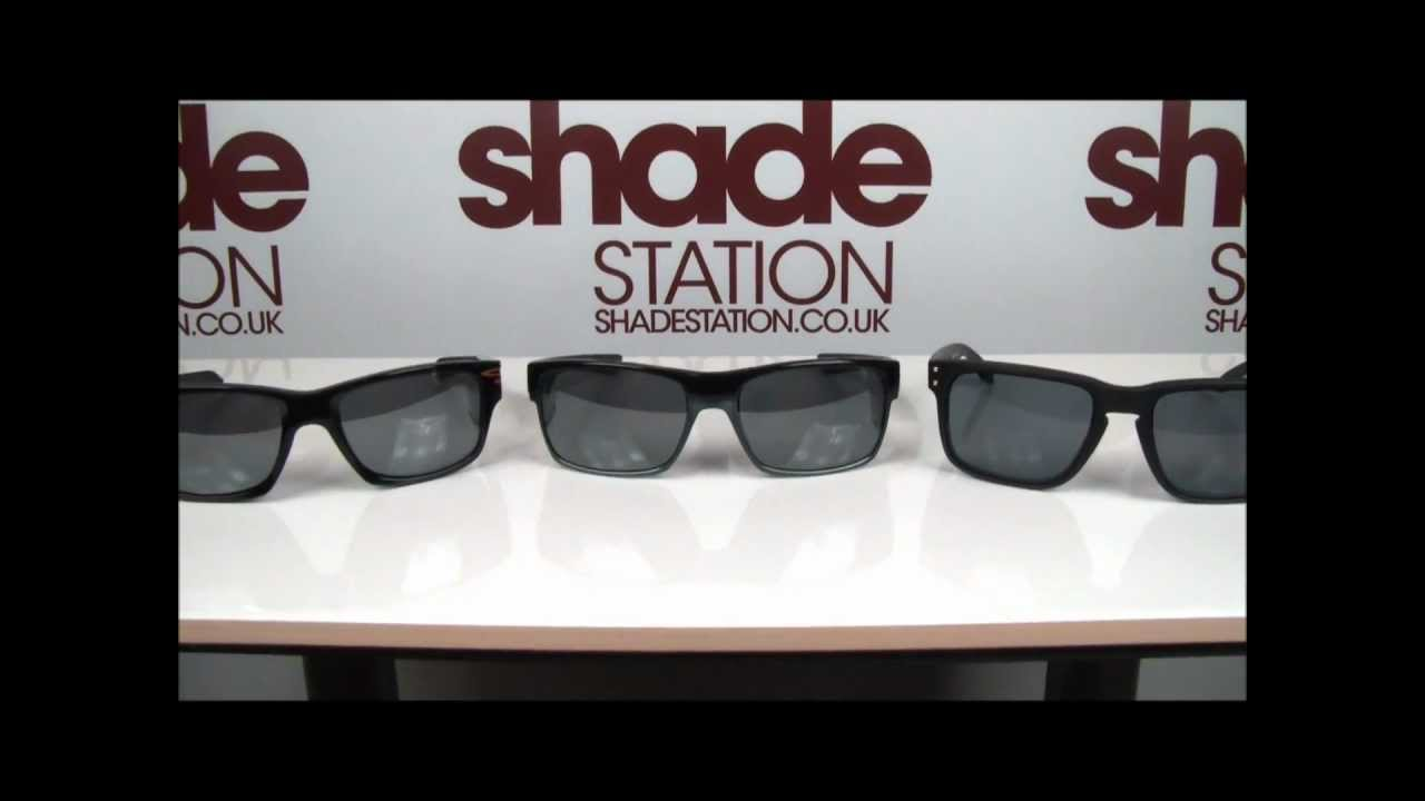 6cf58dd8decc Comparison of Oakley Two Face, Holbrook and Jupiter Squared Sunglasses | Shade  Station - YouTube