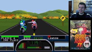 ROAD RASH 2 (Megadrive / Genesis) - Repartiendo cera en la carretera || Gameplay en Español
