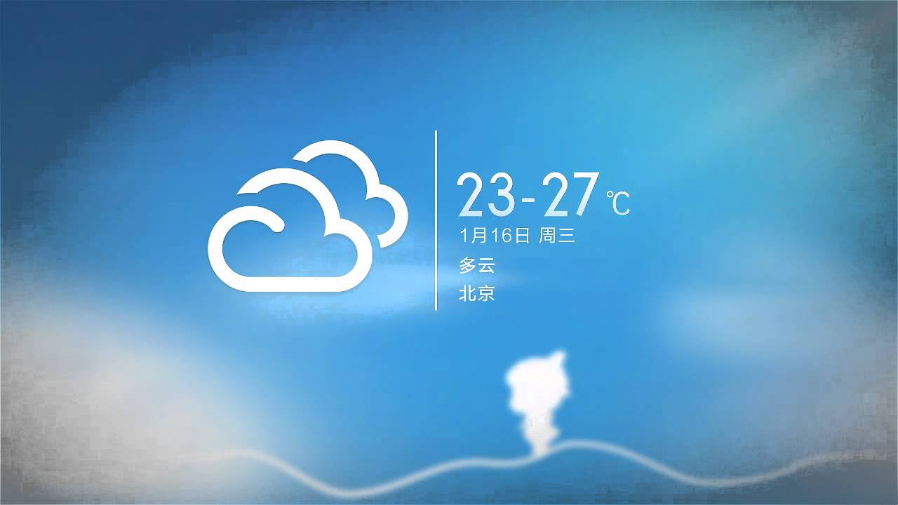Xiaomi Miui Mihome Launcher Live Weather Wallpaper 小米桌面动态场景