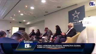 Maibort Petit en Conferencia Ladrones de Estado en Bruselas - EVTV 09/27/18