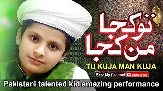 Tu Kuja Man Kuja - Awesome performance by kids saifi naat zikr k sath Masha Allah