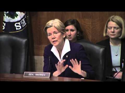 Senator Elizabeth Warren on Minimum Wage Being $22 per Hour
