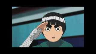 Rock Lee removes his weights.
