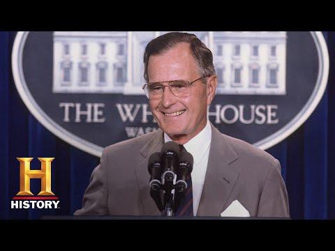 George H.W. Bush: A Life of Leadership   Biography