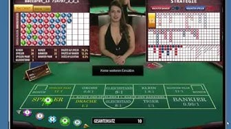 Microgaming Live Baccarat im Europalace Casino