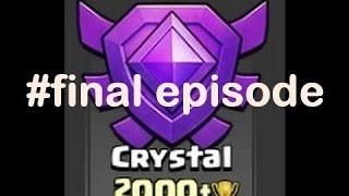Clash of Clans greek - trophy push - 2000 trophies - final episode