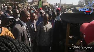 Chamisa gives in to Nzimbe demand in Glen norah, the scramble got our camera down