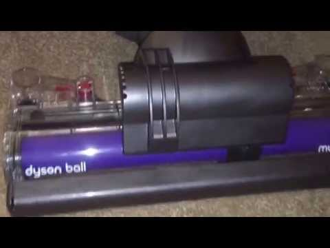 Dyson ball multifloor upright first test