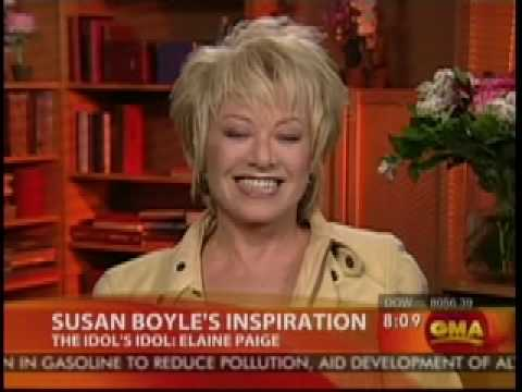 Elaine Paige on Good Morning America, April 2009