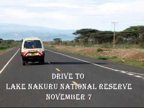 The Drive to Lake Nakuru
