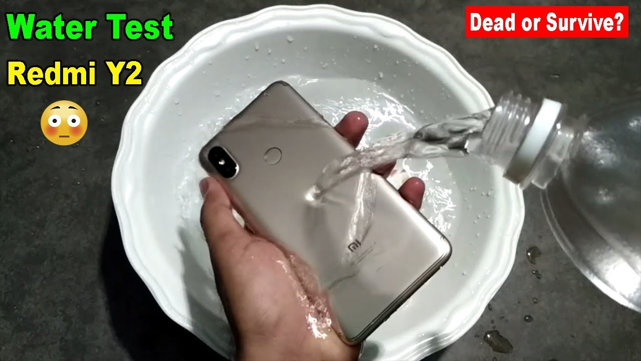 size 40 197cf 79b71 Redmi Y2 Water Test - Will it Survive or Dead??