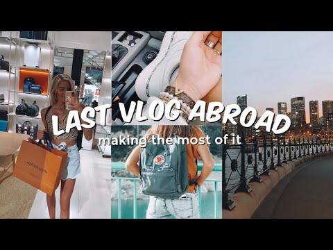 LAST AUSTRALIA VLOG: Exploring The City + An Exciting Purchase, & Hiking W/ Friends