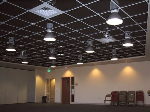 Acoustic Ceiling Tutorial Learn How To Build A 2x2