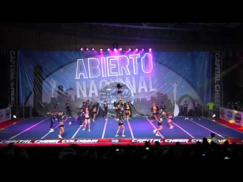 National Power Cheer - Nivel 4 Open large Mixto