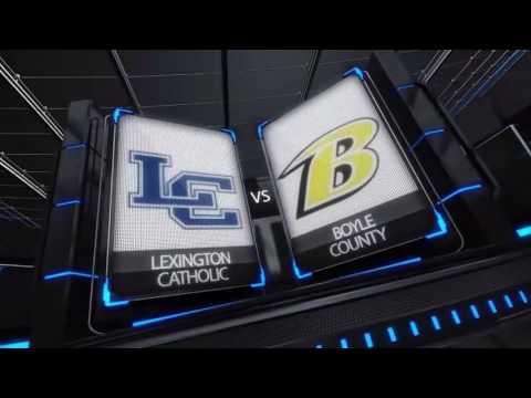 Lexington Catholic at Boyle County - Girls HS Soccer