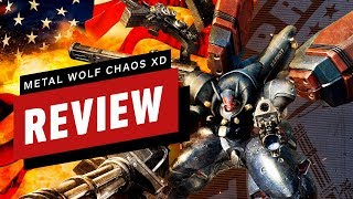 Metal Wolf Chaos XD Review (Video Game Video Review)