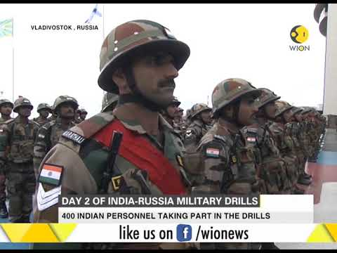 Day 2 of India-Russia military drills