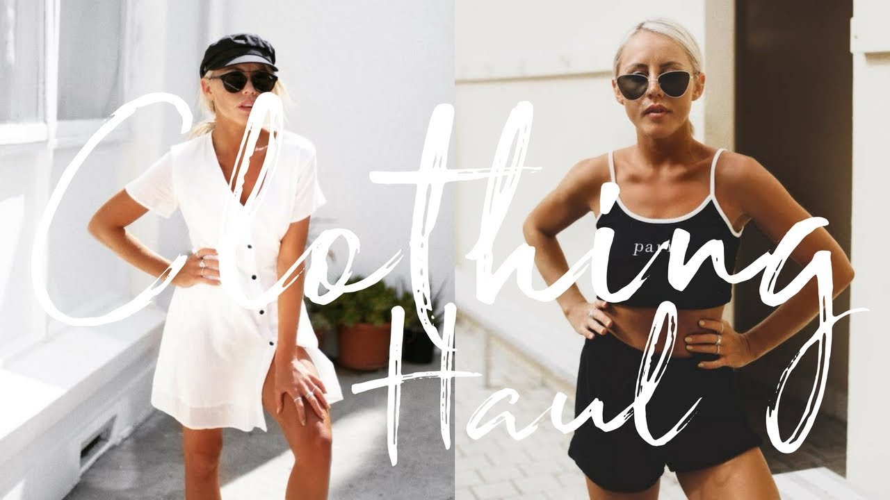 clothing haul white fox boutique christie swadling youtube. Black Bedroom Furniture Sets. Home Design Ideas