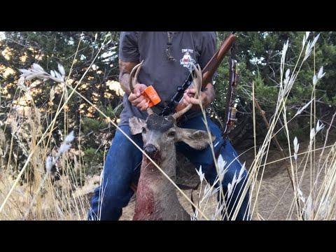 Mid Season Deer Hunt - Carrizo Plains - Buck Down