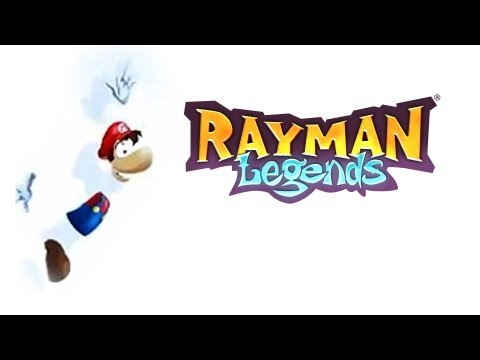 RAYMAN LEGENDS #4 - Fase Musical e Roupa do Mario!