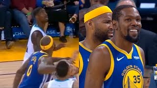 DeMarcus Cousins gets flagrant 2 foul & ejected from game after hitting Hernangomez in the face