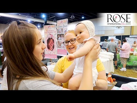 Rose Doll Show 2019 Shopping for Reborns on Our Last Day at the Reborn Doll EXPO