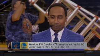 Stephen A. Smith Rants on the Cavs After Game 2 Loss vs. Warriors | LIVE 6 5 16