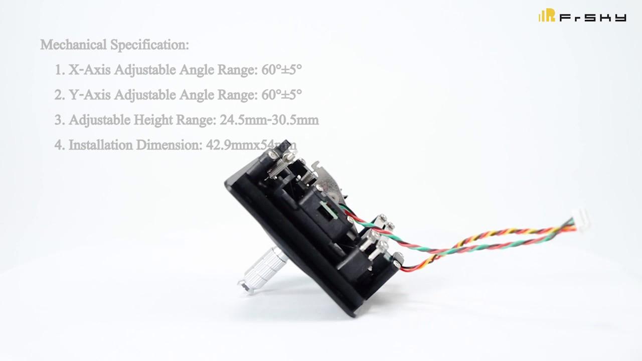 M7 Hall Sensor Gimbal Design For Frsky Taranis Q X7 Youtube
