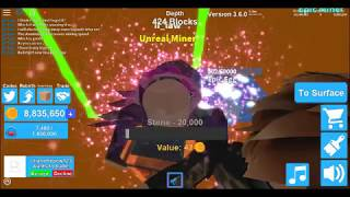 MINING SIMULATOR FIRST TO GET GALAXY DOMINUS! (Roblox)