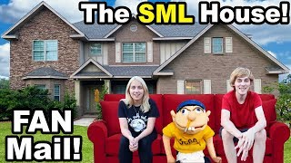 OPENING FAN MAIL PACKAGES.. OUTSIDE!! (SML and Chilly)
