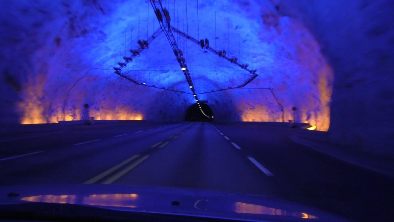 worlds longest road tunnel 245 km152 mi l230rdalst