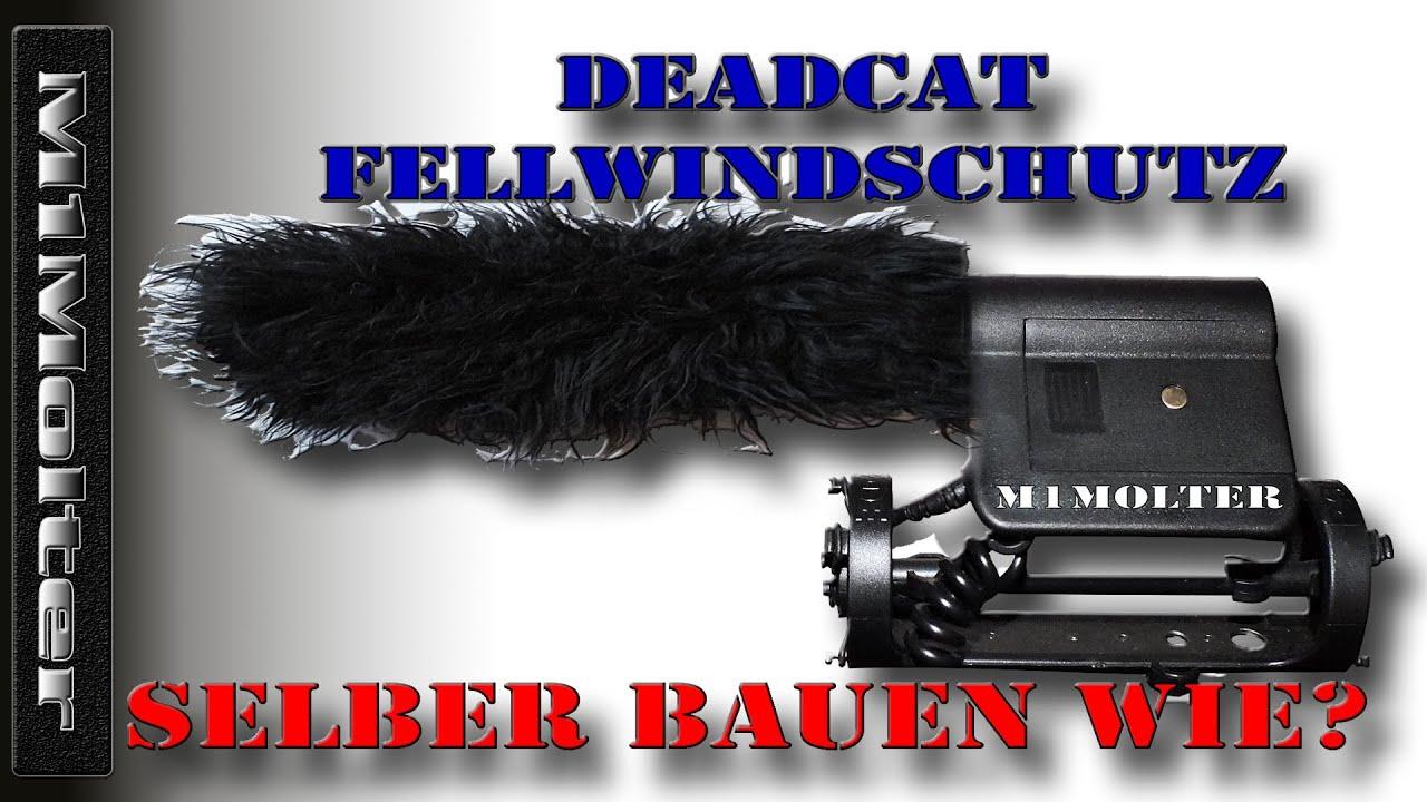 deadcat fellwindschutz selber bauen wie von m1molter mikrofon windschutz poppschutz youtube. Black Bedroom Furniture Sets. Home Design Ideas