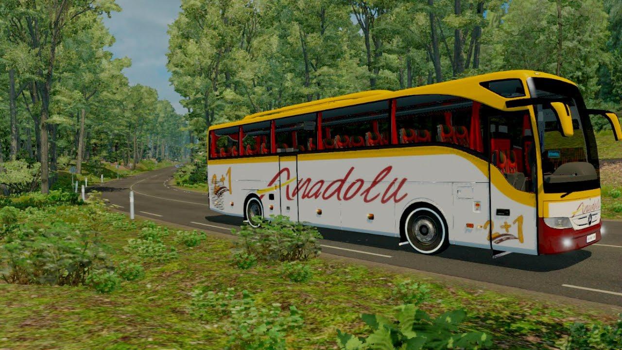 ets 2 1 26 tourismo bus mod   youtube