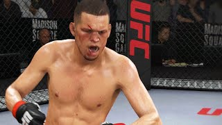 UFC 3 Beta Gameplay - Conor McGregor vs Nate Diaz