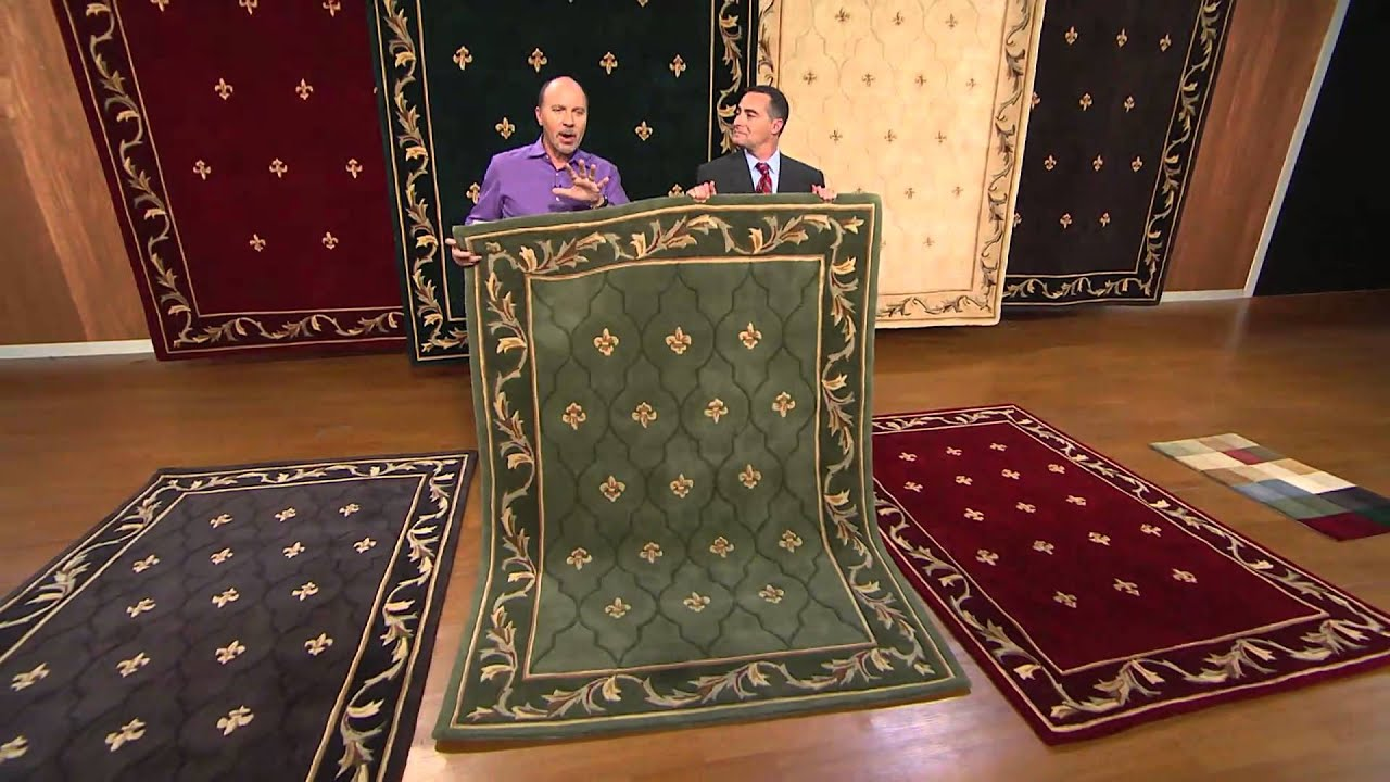 Royal Palace Special Edition Fleur De Lis 3 X 5 Wool Rug With Dan Wheeler You