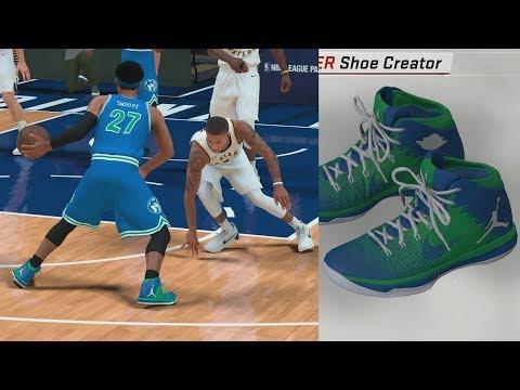 NBA 2K18 My Career - Signature Shoe Talk! Custom Colorway! PS4 Pro 4K Gameplay