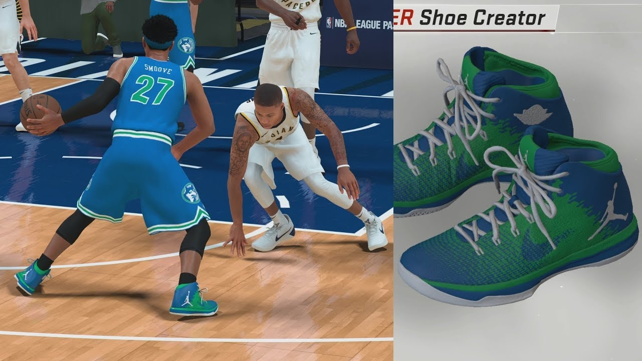 NBA 2K18 My Career - Signature Shoe Talk! Custom Colorway! PS4 Pro 4K  Gameplay