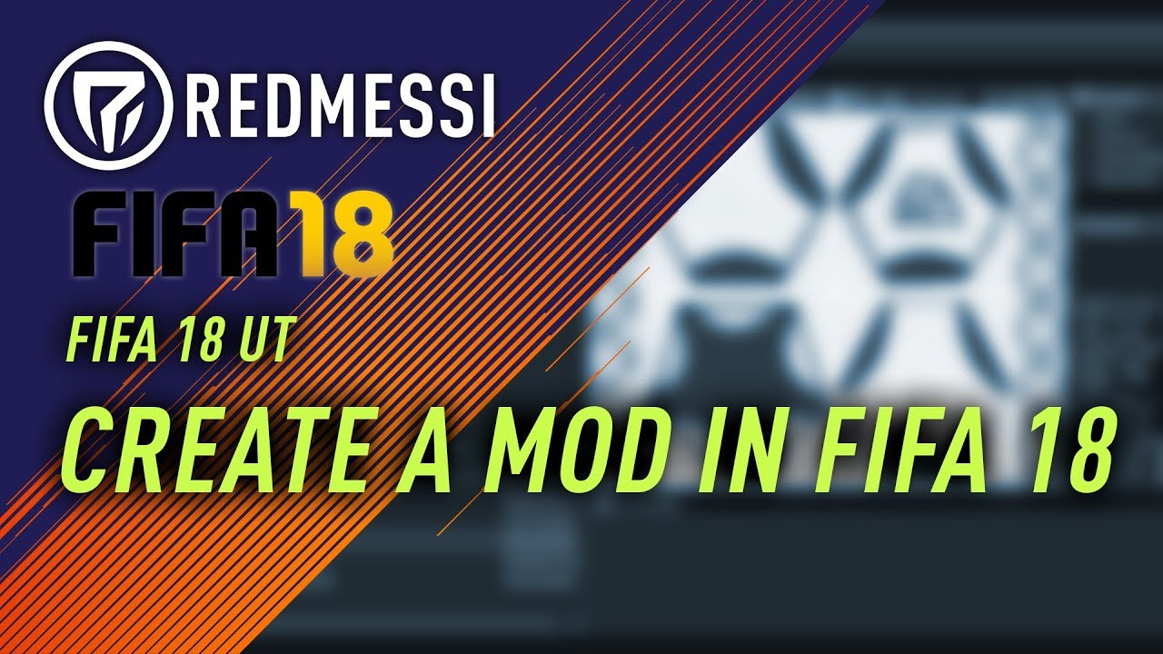 [FIFA 18] Frosty Editor #28 Create Mods with Mod Manager - Mods erstellen