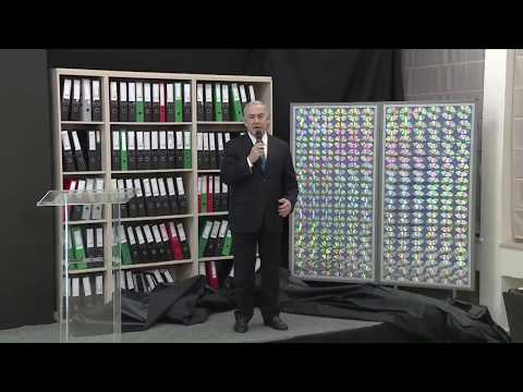 AMAZING ISRAELI ACHIVEMENT! - exposing 100,000 documents from Iran's nuclear program archive