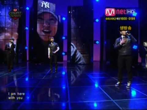 SPECIAL STAGE [HQ] 4/08/10 2AM, Jung In & G.O. (MBLAQ)- You're Not Alone LP
